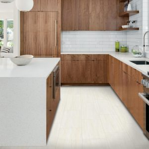 White tiles of kitchen | All Floors Design Centre