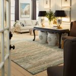Area Rug in living room | All Floors Design Centre