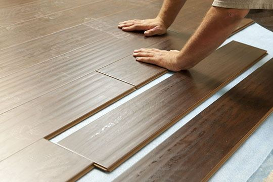 Laminate installation | All Floors Design Centre