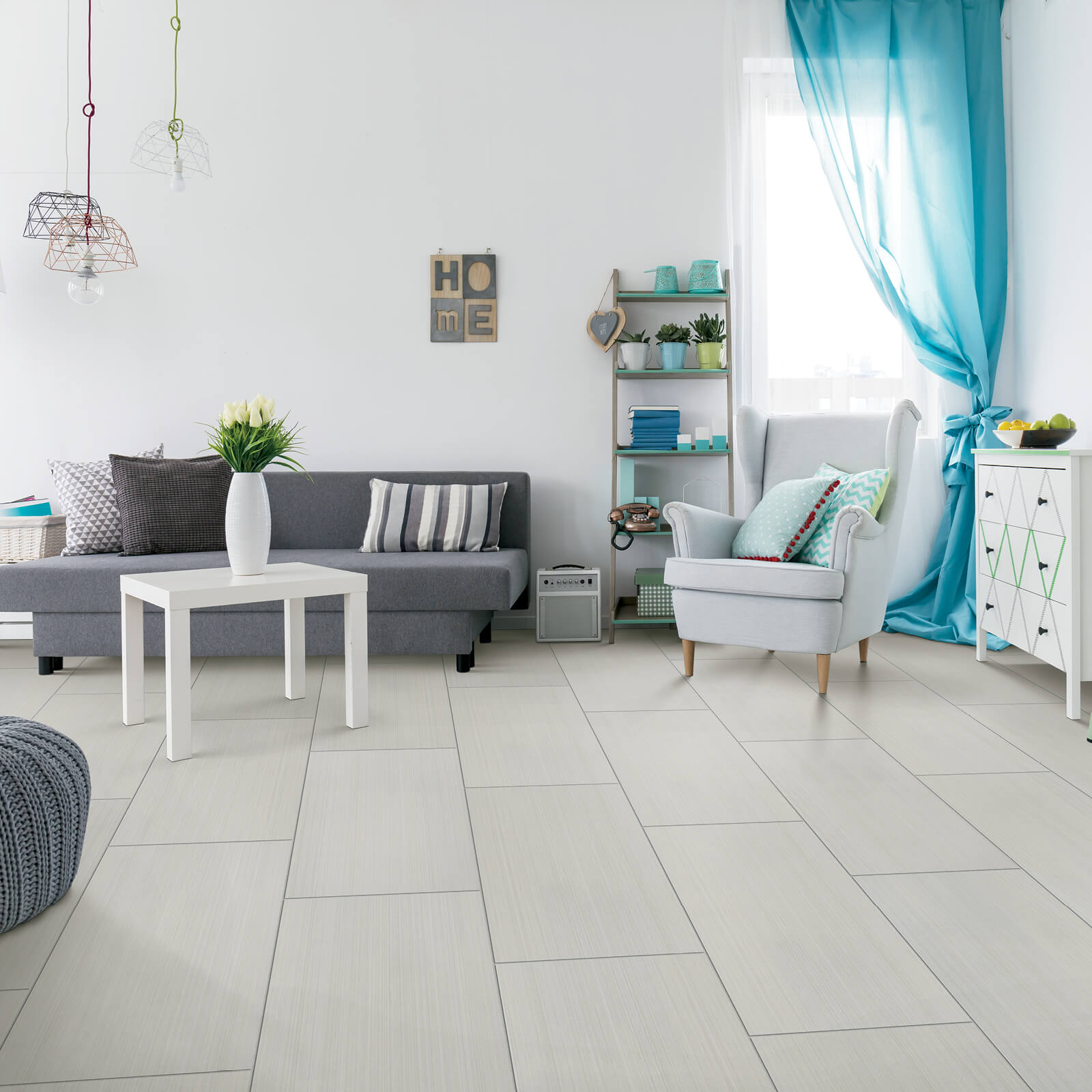 tile in living room | All Floors Design Centre