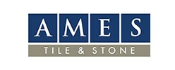 Ames tile and stone logo | All Floors Design Centre