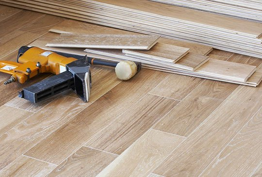 Hardwood installation | All Floors Design Centre