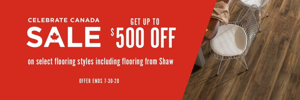 Celebrate Canada Sale | All Floors Design Centre