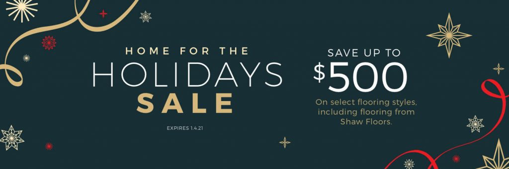 Home For the holiday sale | All Floors Design Centre