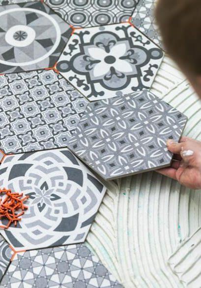 Tile installation | All Floors Design Centre